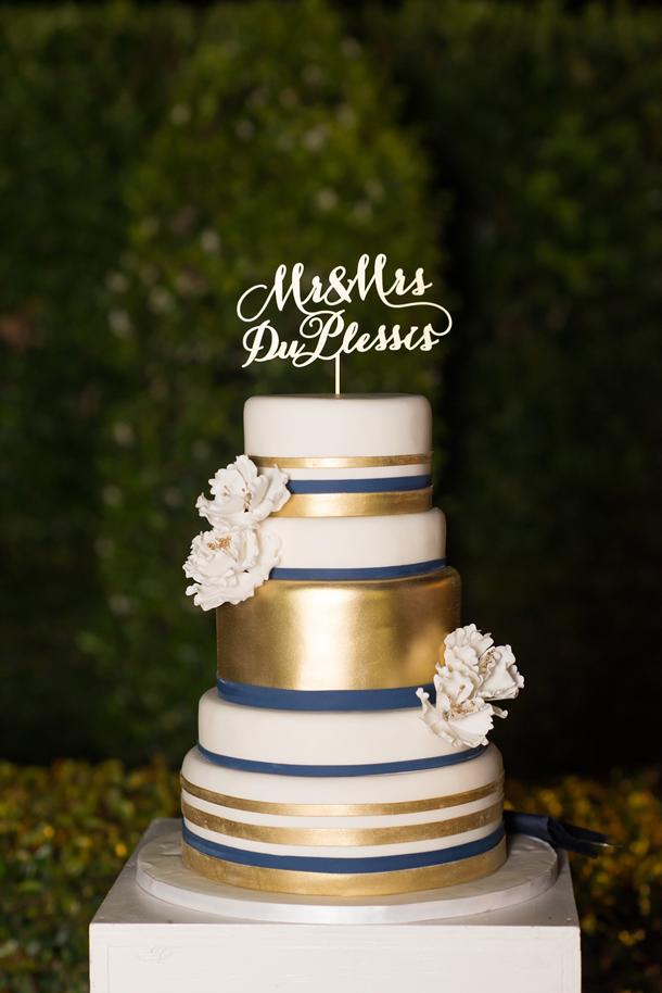 Glamorous Navy Pink Amp Gold Wedding Southbound Bride