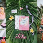 Tropical Heat Bridal Shower by Oh Happy Day, Kelly Daniels & The Shank Tank