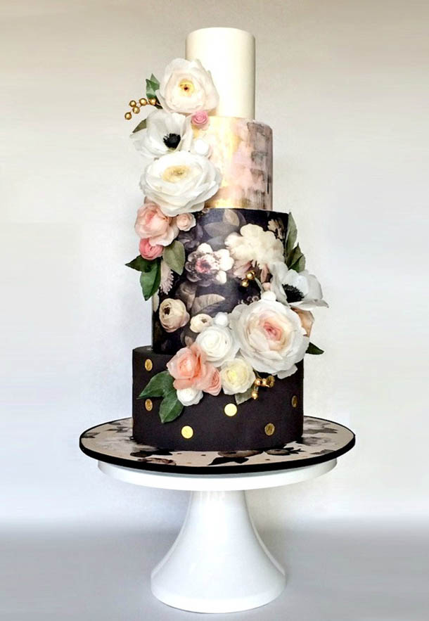 Cake Images Print : 20 Floral Print Wedding Cakes SouthBound Bride