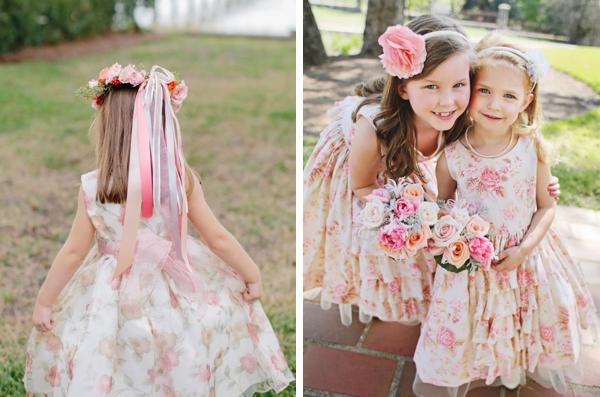 Floral print dresses for flowergirls southbound bride flower dresses for flowergirls mightylinksfo