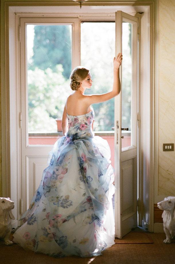 Floral Bridal Dresses