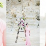 Desert Watercolour Bridal Portrait Shoot by Jack and Jane