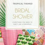 Tropical Themed Bridal Shower Invitations & Ideas