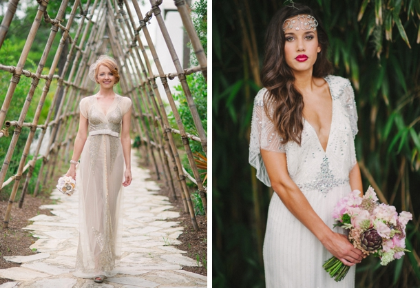 25 Gatsby Glam Wedding Dresses | SouthBound Bride