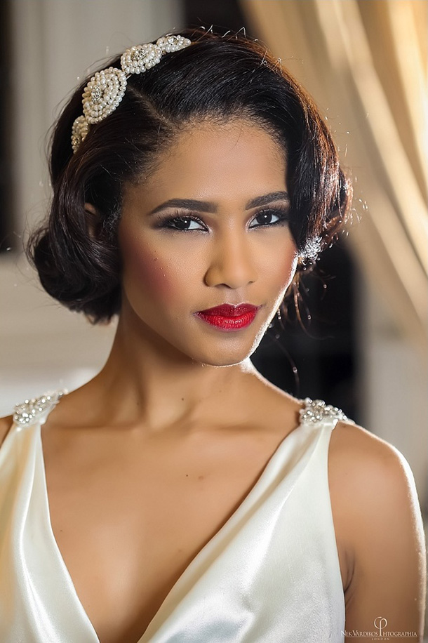 american wedding hair styles 20 glamorous lipstick brides southbound 9981