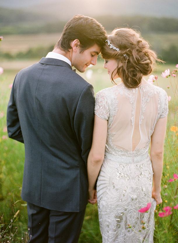 332a42598ac0a3 Great Gatsby 1920s Art Deco Wedding Dresses | SouthBound Bride