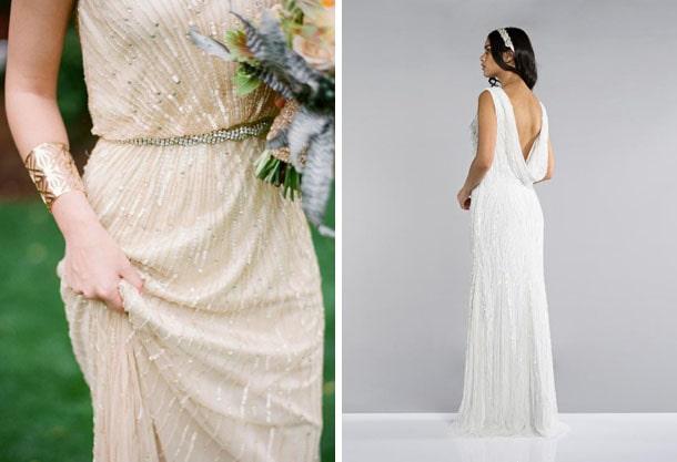 Gatsby Glam Wedding Dresses