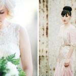 Glamorous Red Lip Bridal Style