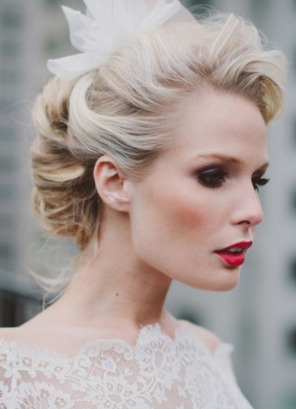 20 Glamorous Red Lipstick Brides Southbound Bride