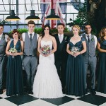 Urban Garden Glam Wedding at Katy's Palace Bar by Blackframe Photography {Georja & Danny}