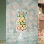 Macaron Tower Wedding Cakes