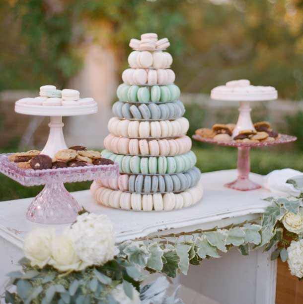 007 Macaron Tower Wedding Cakes Southboundbride