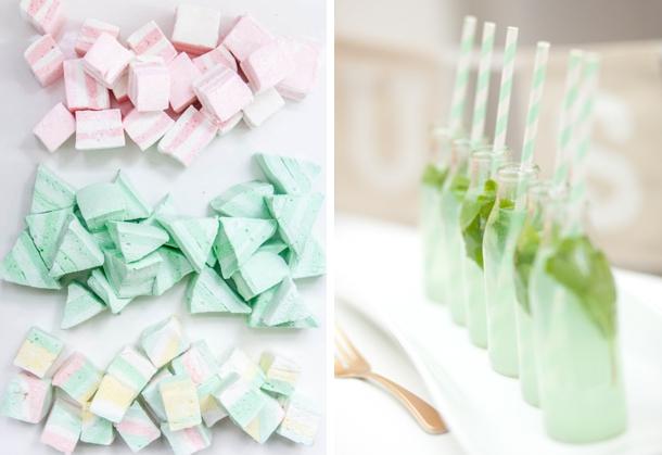 Pastel Marshmallows & Mint Lemonade