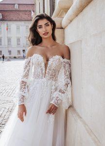 Etsy Off-the-Shoulder Wedding Dresses