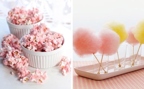 Pastel Popcorn & Pastel Cotton Candy