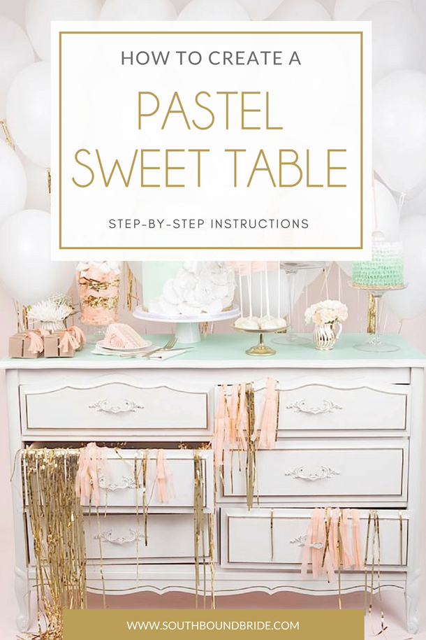 How to Pastel Dessert Table