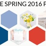 Pantone Spring 2016 Colour Palettes Part 2