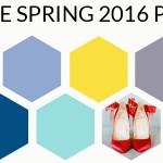Pantone Spring 2016 Colour Palettes Part 3