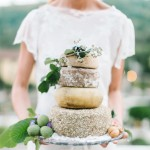 How to: Cheese Wheel Wedding Cakes