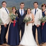 Rustic Navy, Red & Yellow Wedding at The Cowshed by Laura Leigh {Leande & Martin}