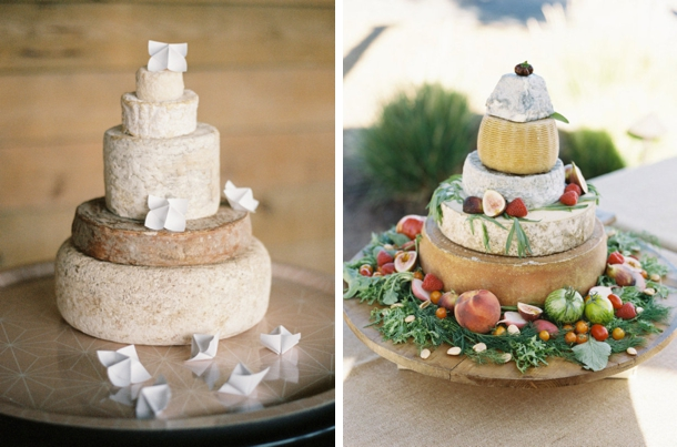 How to Make a Cheese Wheel Wedding Cake | SouthBound Bride