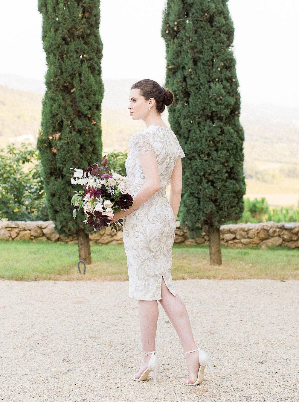 Stylish Short Wedding Dresses from Etsy