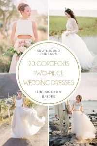 Two-piece Wedding Dresses