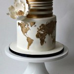 Travel Theme Wedding Cakes