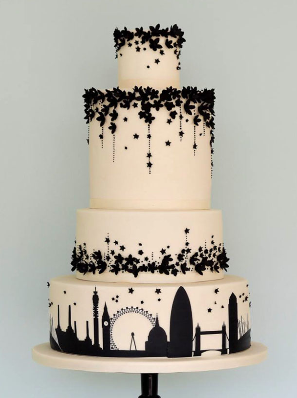 20 Travel Themed Wedding Cakes