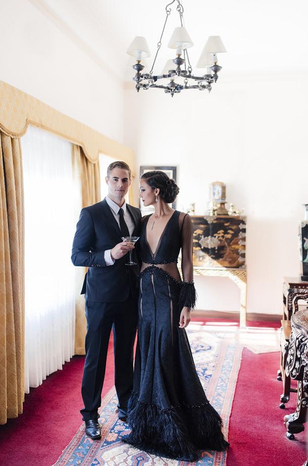 Stunning James Bond Themed Wedding Gallery Styles