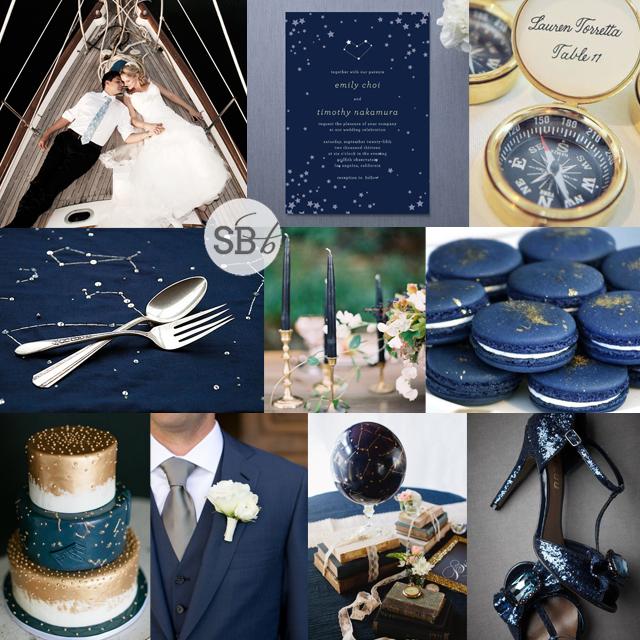Top Row L R Bride Groom On Sailboat Hamilton Photography Celestial Wedding Invitation Minted Compass Escort Cards