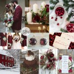Inspiration Board: Marsala Christmas