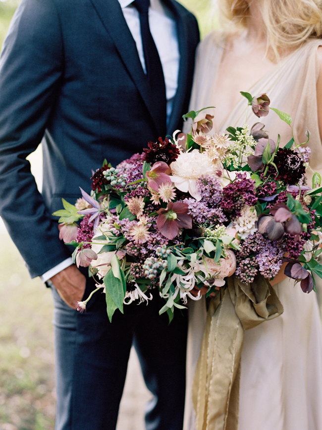 Plum Purple Bouquet