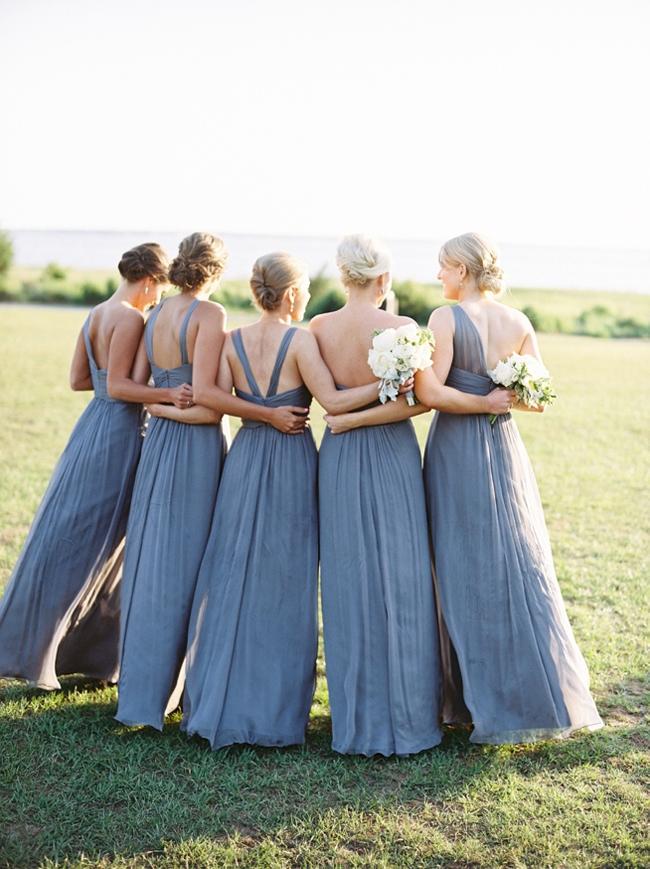 Dusty Blue Bridesmaid Dresses | SouthBound Bride