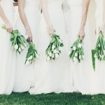 Contemporary Green & White Wedding at Kleinevalleij by Fiona Clair