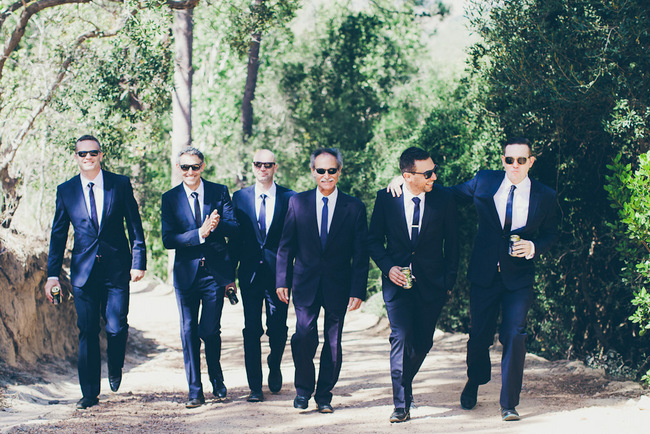 Classic Black and White Tuxedos