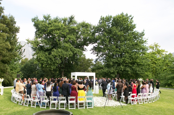 Outdoor Wedding Ceremony by ZaraZoo Photography