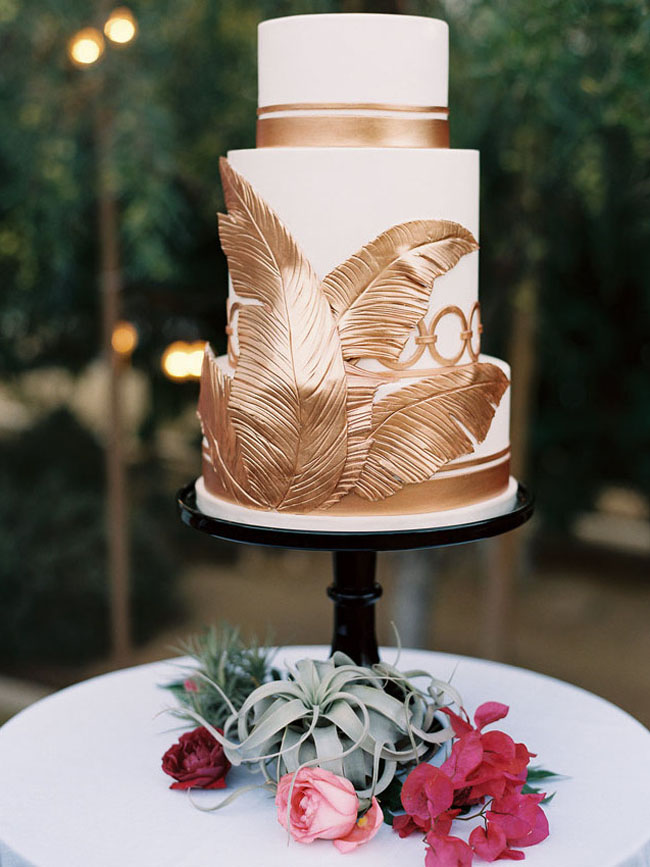 Tropical Wedding Cakes