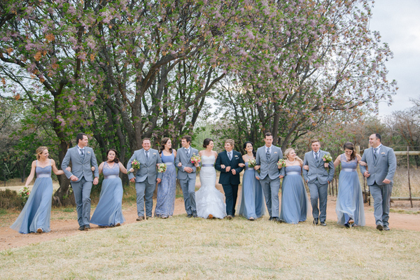 Serenity Blue Bridal Party by Charl van der Merwe Photography