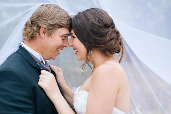Bride and Groom Portrait by Charl van der Merwe Photography