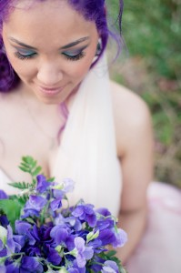 creative bridal make-up