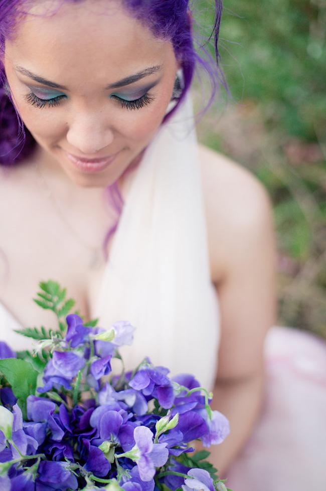 creative bridal make-up