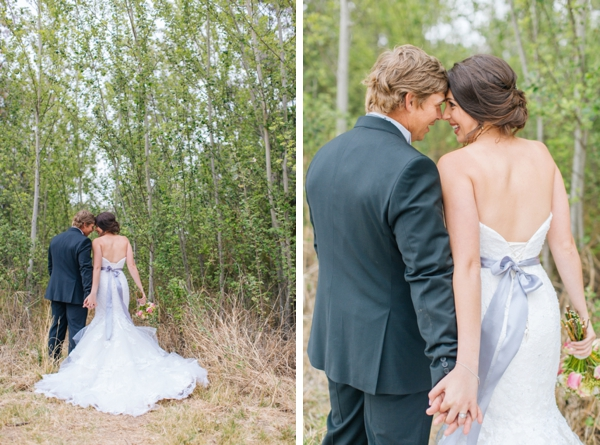 Bride and Groom Portraits in Rustic Woods by Charl van der Merwe Photography