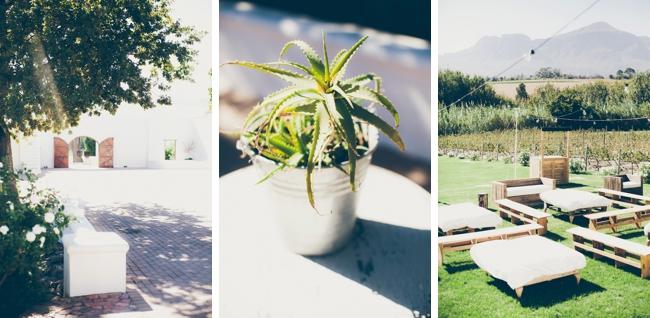 Stylish Outdoor Reception at Kleinevalleij