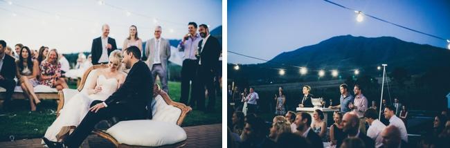 Romantic Outdoor Wedding Reception at Kleinevalleij