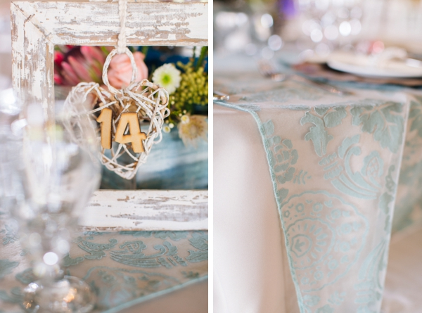 Rustic Table Decor at Grin Court