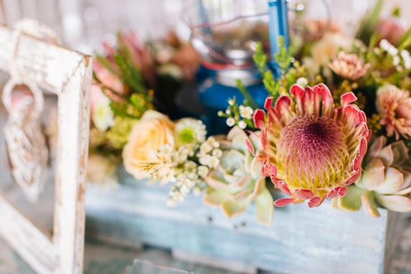 Protea Bouquet by Charl van der Merwe Photography