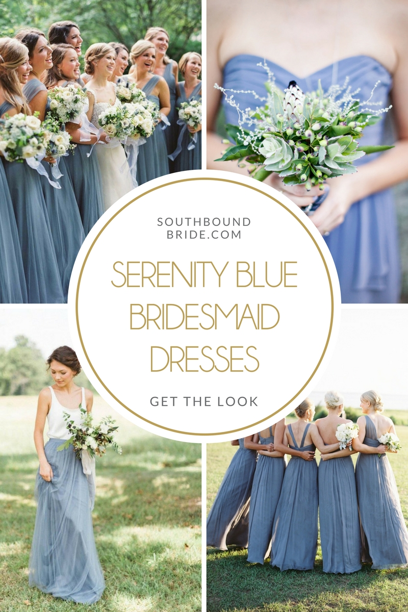 Serenity Blue Bridesmaid Dresses