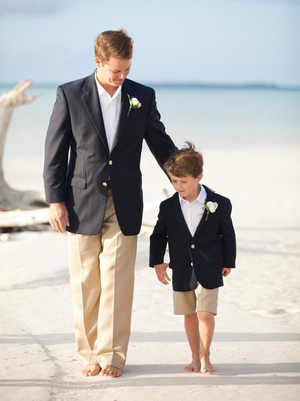 Formal Beach Wedding Attire