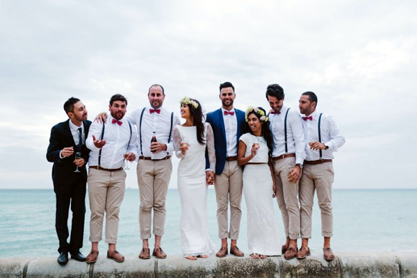 Awesome Groomsmen Beach Wedding Attire Contemporary - Style and ...